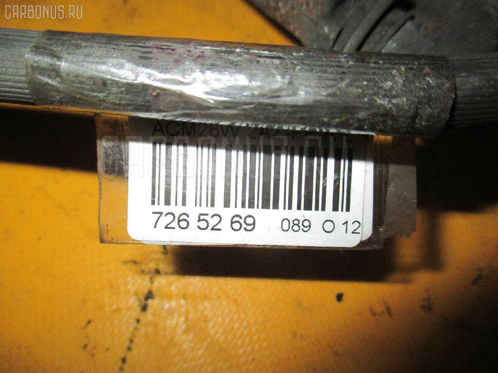 Суппорт TOYOTA IPSUM ACM26W 2AZ-FE Фото 3
