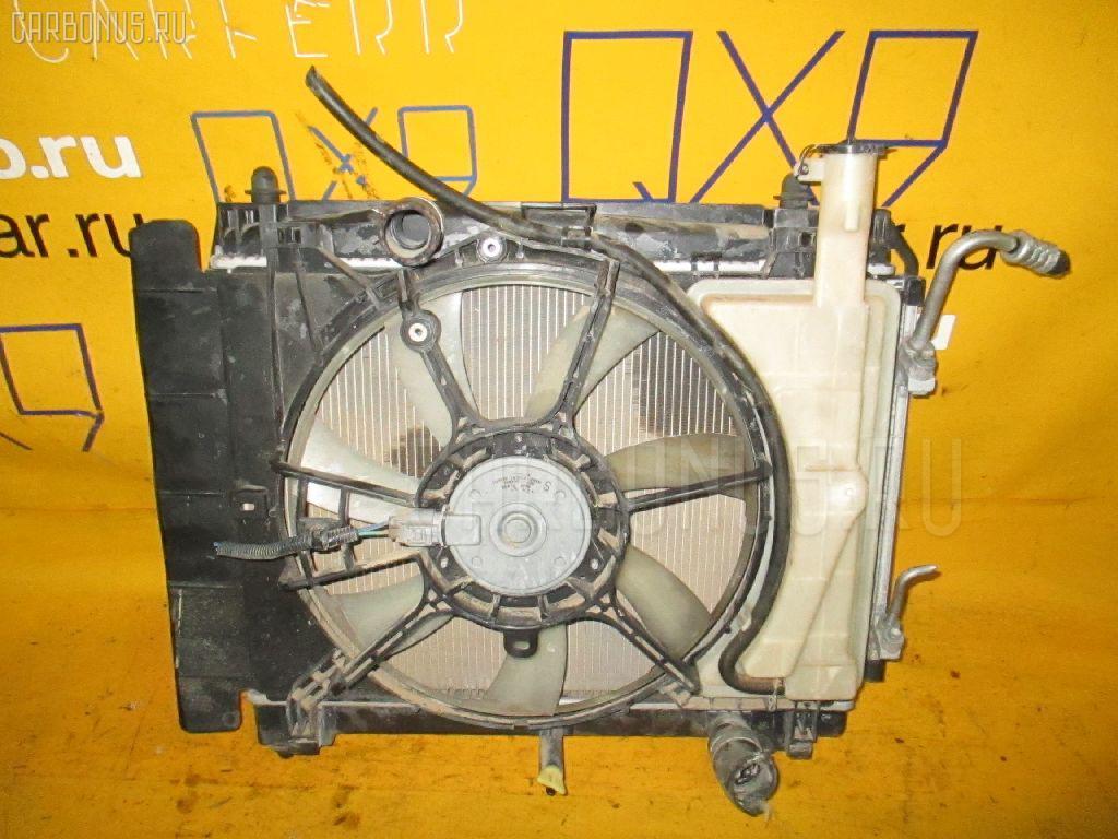 Радиатор ДВС TOYOTA RACTIS NCP100 1NZ-FE Фото 1