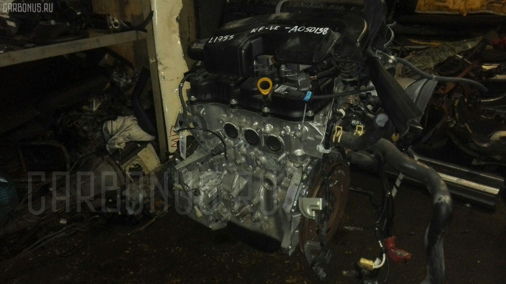 Двигатель DAIHATSU MOVE L175S KF-VE. Фото 11