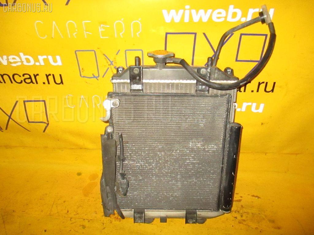 Радиатор ДВС DAIHATSU MOVE L150S EF-VE. Фото 1