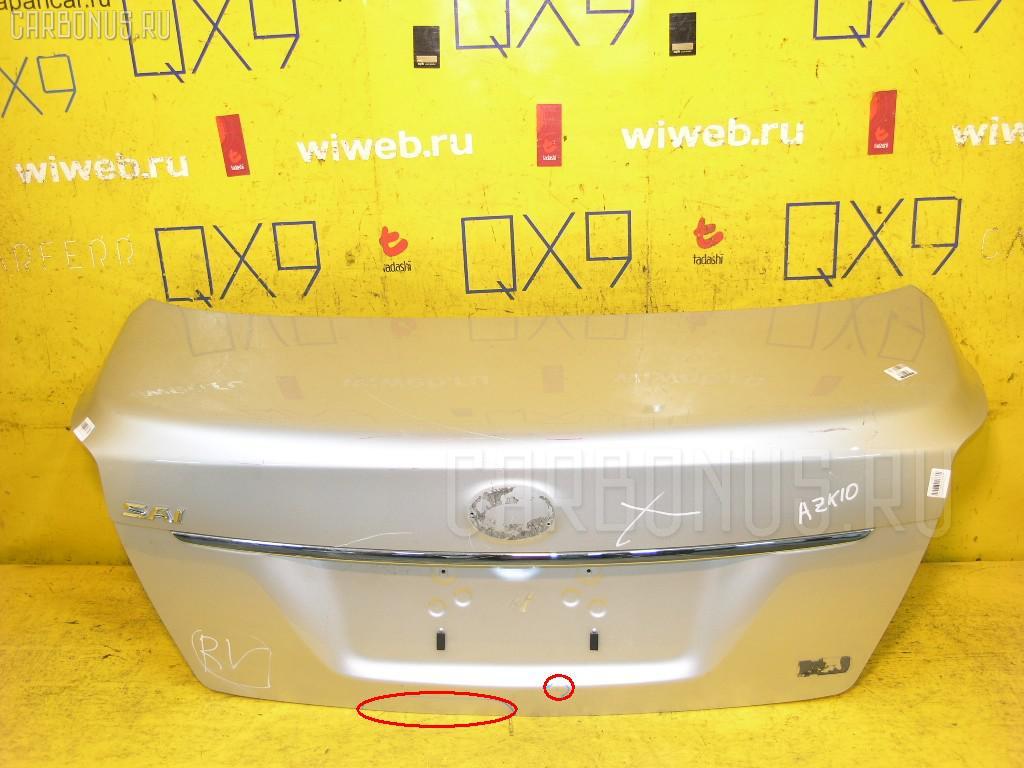 Крышка багажника TOYOTA SAI AZK10 Фото 1