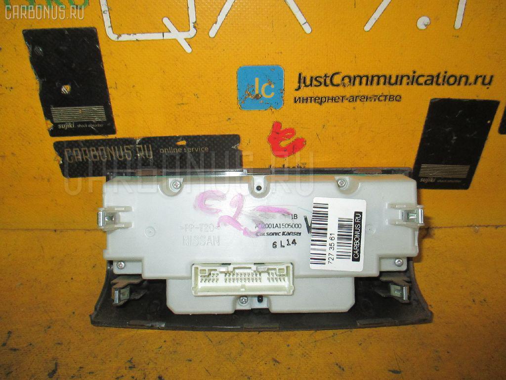 Блок управления климатконтроля NISSAN SERENA C25 MR20DE Фото 2