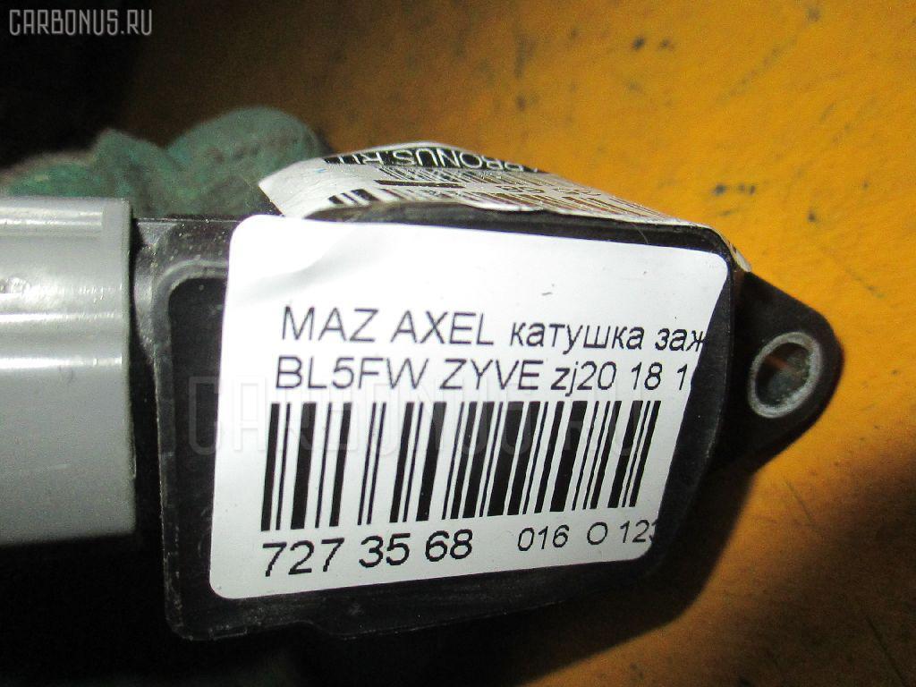 Катушка зажигания MAZDA AXELA SPORT BL5FW ZYVE Фото 2