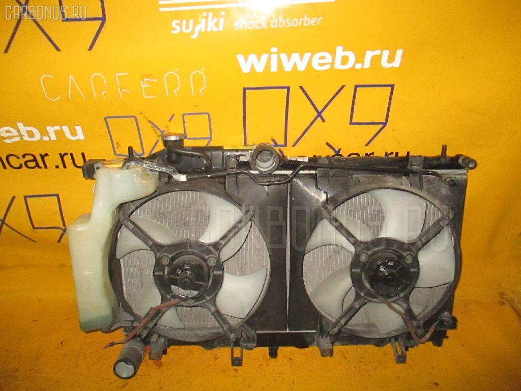 Радиатор ДВС SUBARU LEGACY BP5 EJ20. Фото 6