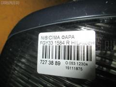 Фара Nissan Cima FGY33 Фото 3