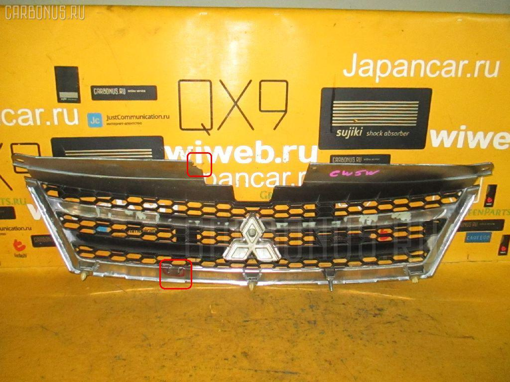 Решетка радиатора MITSUBISHI OUTLANDER CW5W Фото 4
