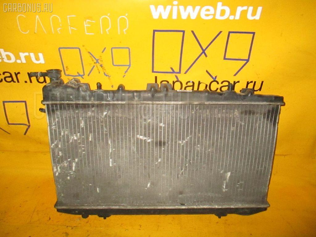 Радиатор ДВС NISSAN AD WAGON WFY10 GA15DE. Фото 2