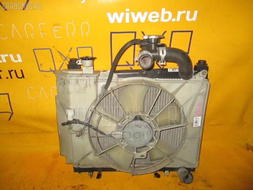 Радиатор ДВС TOYOTA PROBOX NCP50V 1NZ-FE. Фото 3