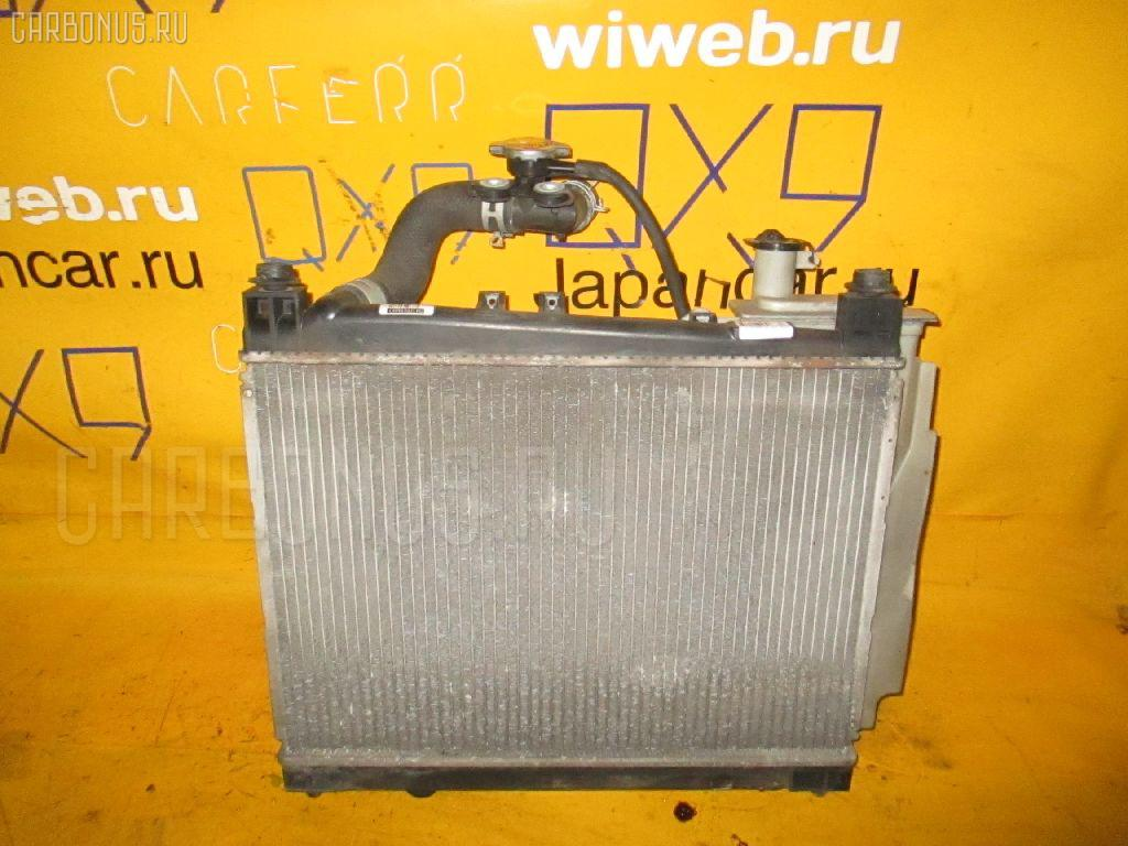 Радиатор ДВС TOYOTA PROBOX NCP50V 1NZ-FE. Фото 4