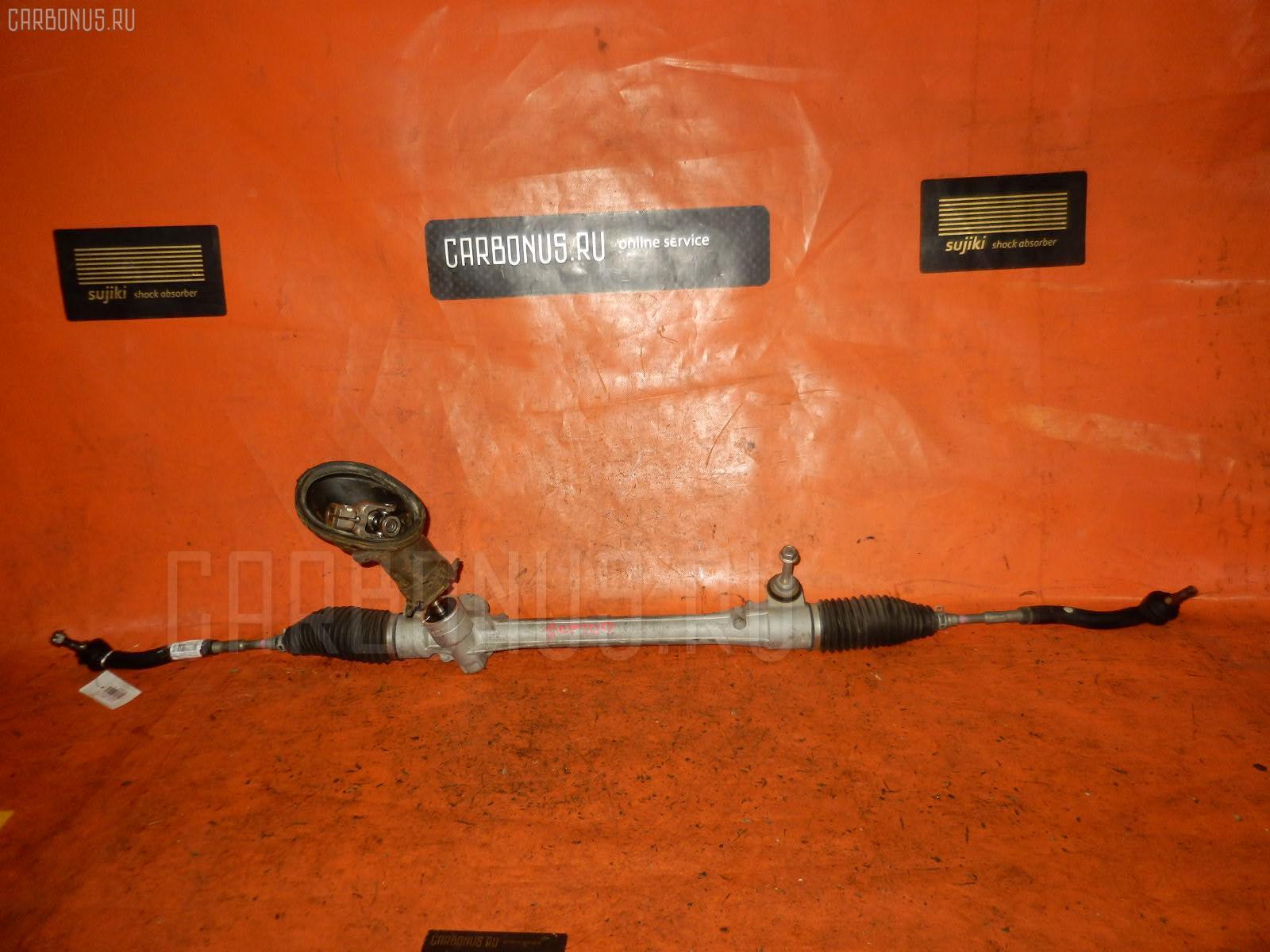 Рулевая рейка TOYOTA RACTIS SCP100 2SZ-FE. Фото 5