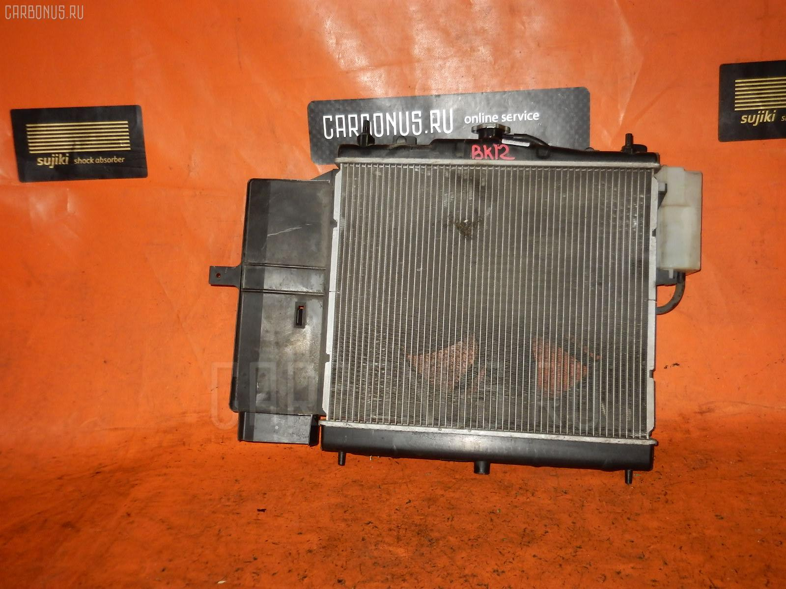 Радиатор ДВС NISSAN MARCH BK12 CR14DE. Фото 9