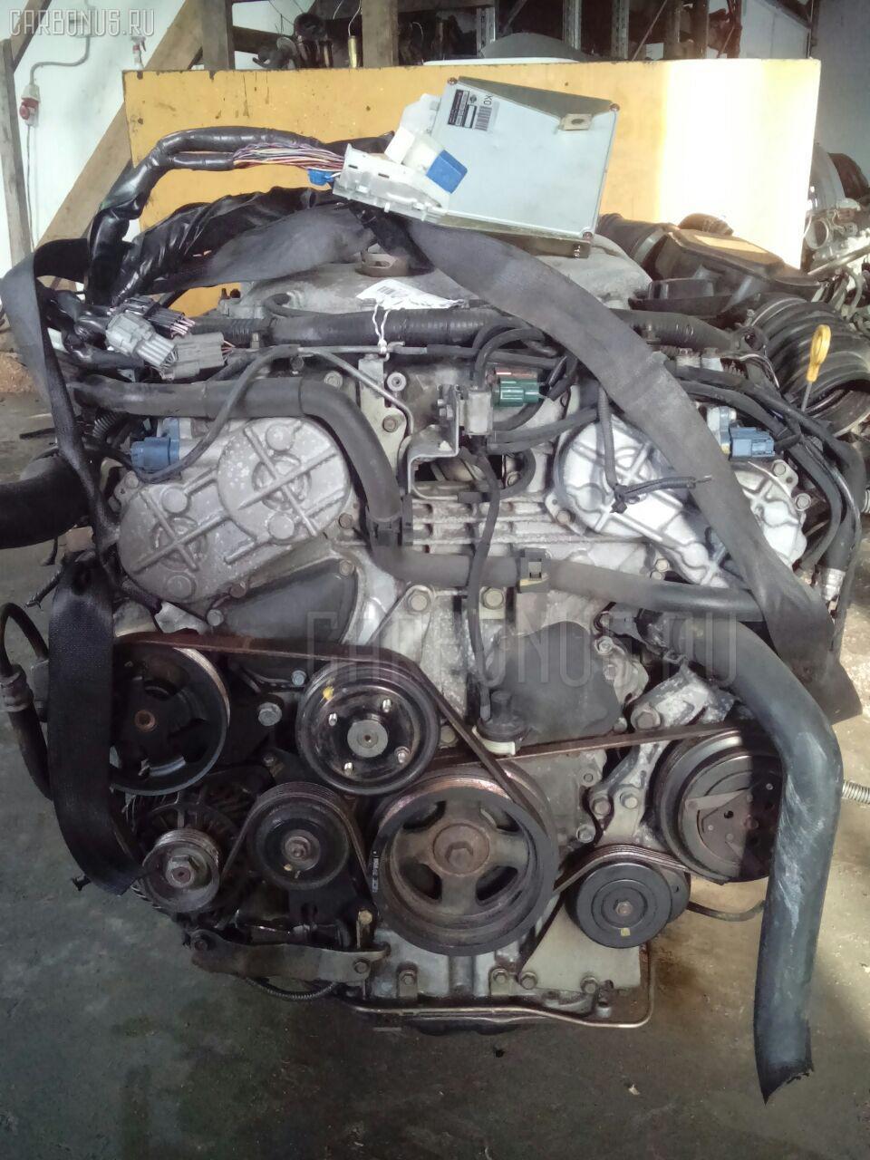 Двигатель NISSAN STAGEA HM35 VQ30DD. Фото 11