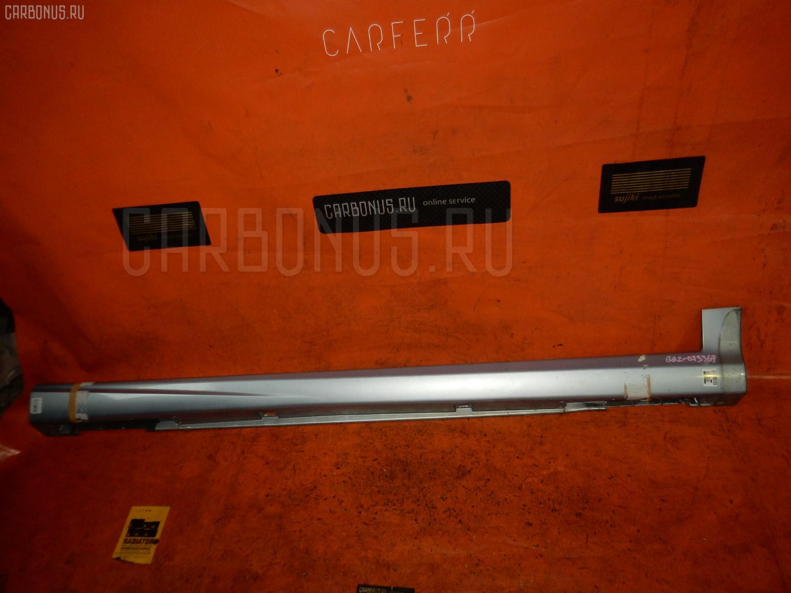 Порог кузова пластиковый ( обвес ) SUBARU IMPREZA WAGON GG2. Фото 6
