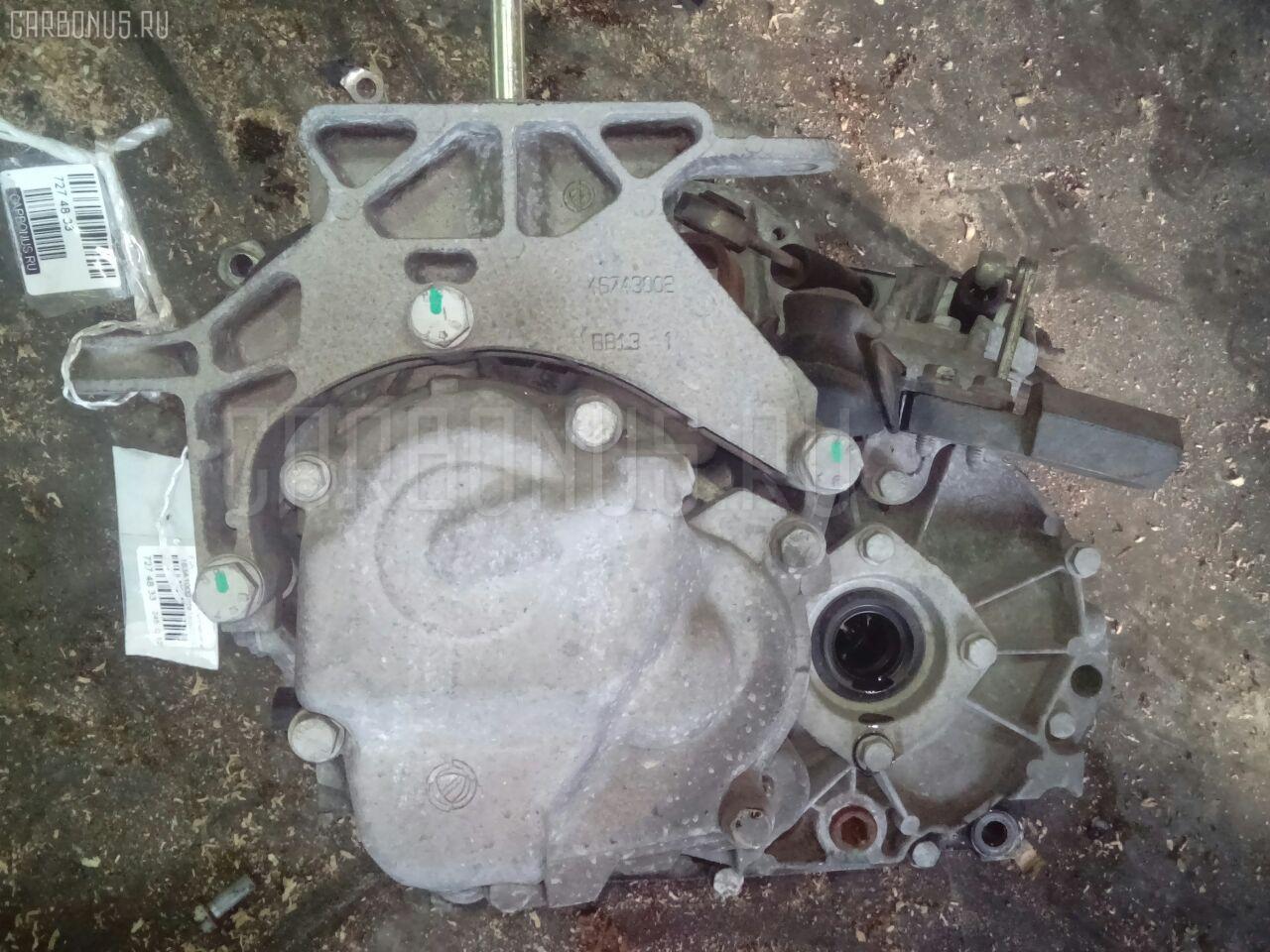 КПП механическая FIAT PUNTO 188 183A1000 Фото 2