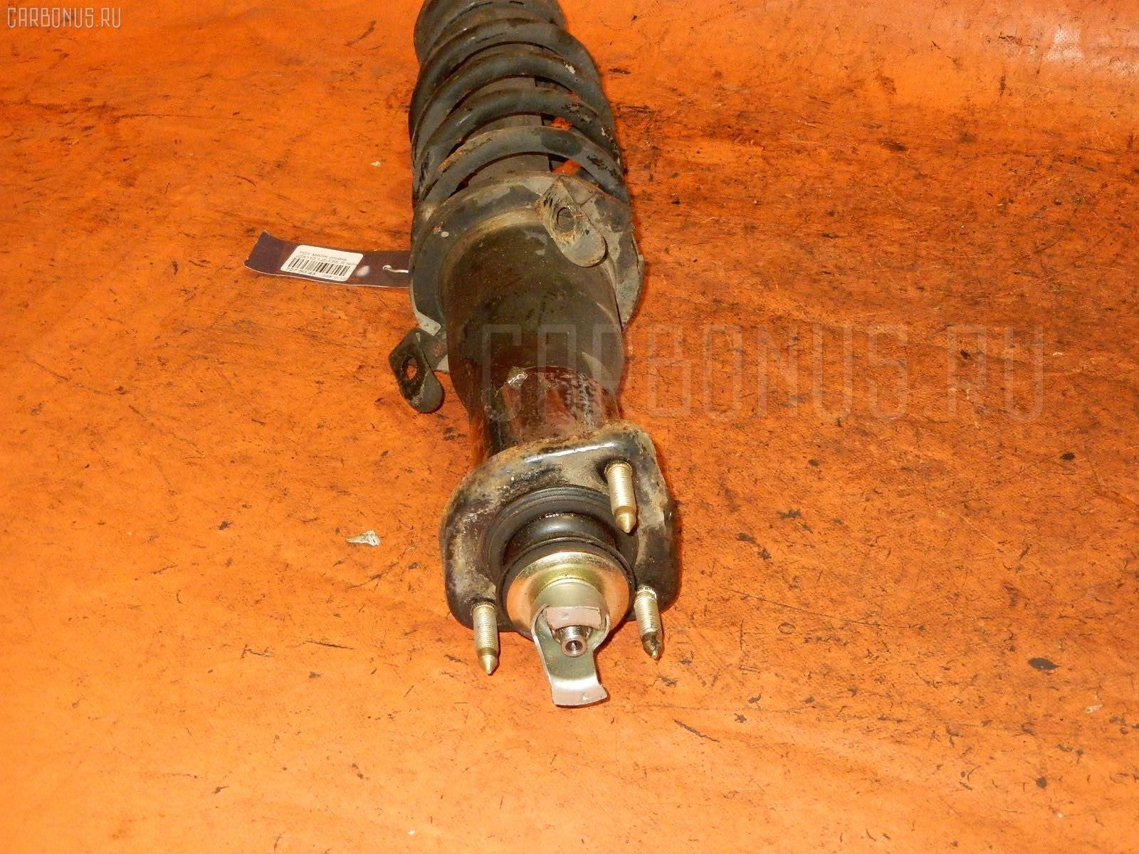 Стойка амортизатора TOYOTA MARK II JZX110 1JZ-FSE. Фото 9