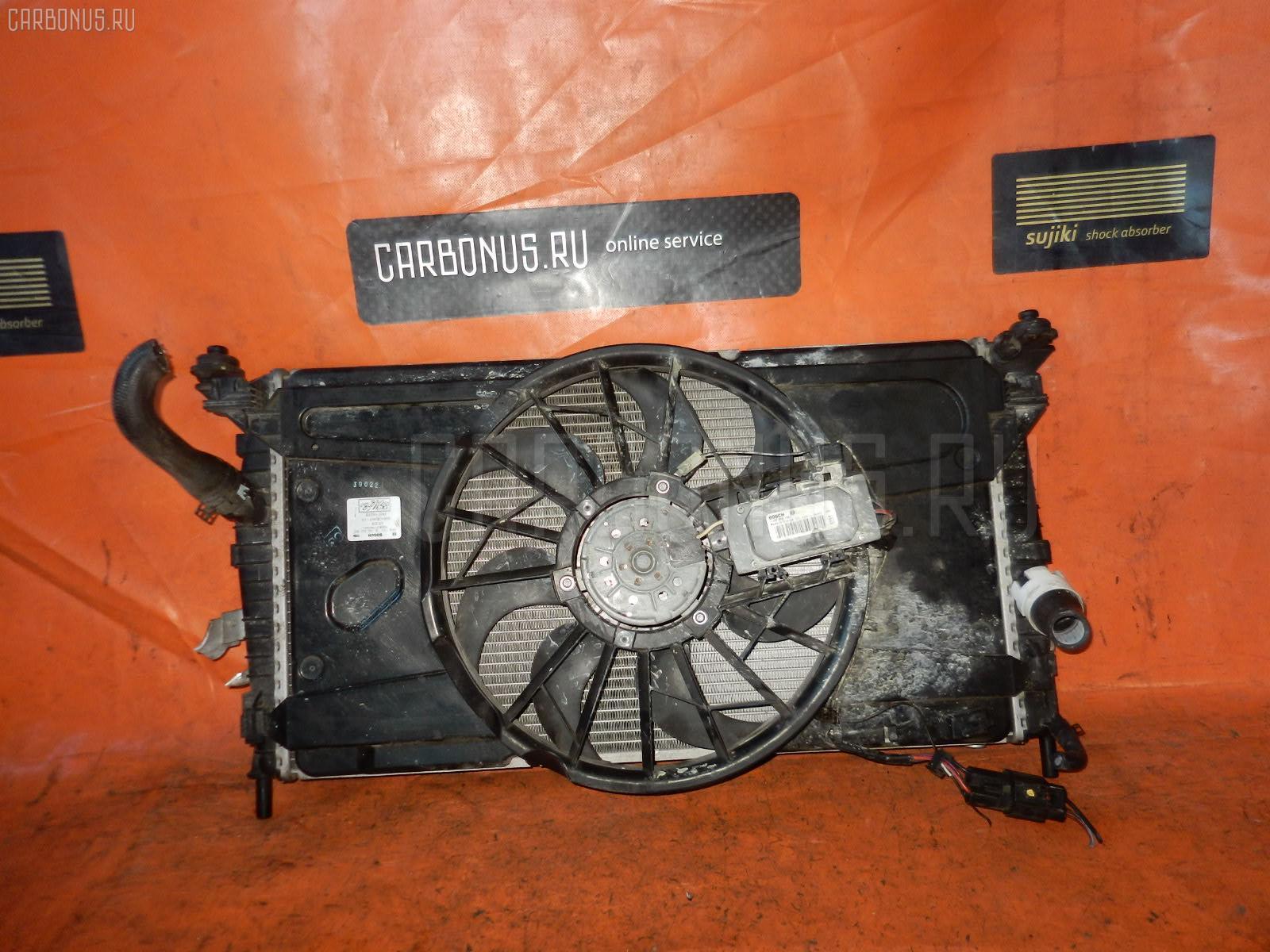 Радиатор ДВС FORD FOCUS II WF0AOD AODA. Фото 11