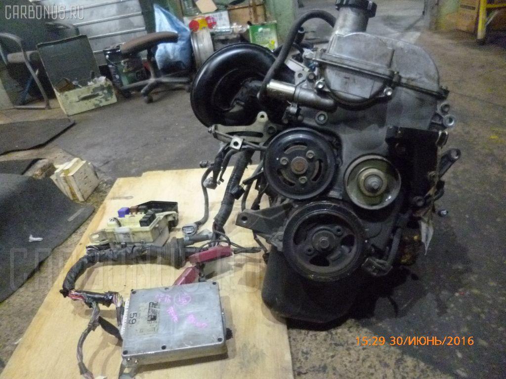 Двигатель TOYOTA VITZ SCP10 1SZ-FE Фото 4
