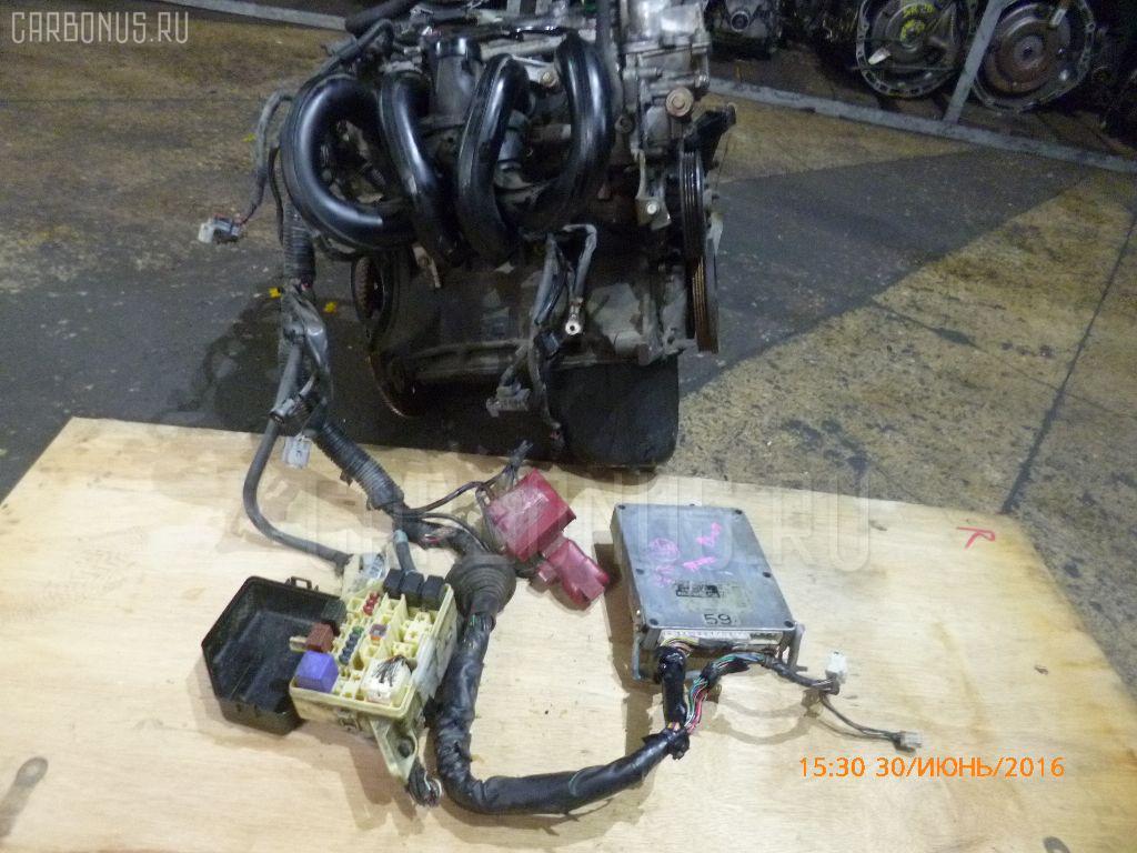 Двигатель TOYOTA VITZ SCP10 1SZ-FE Фото 5