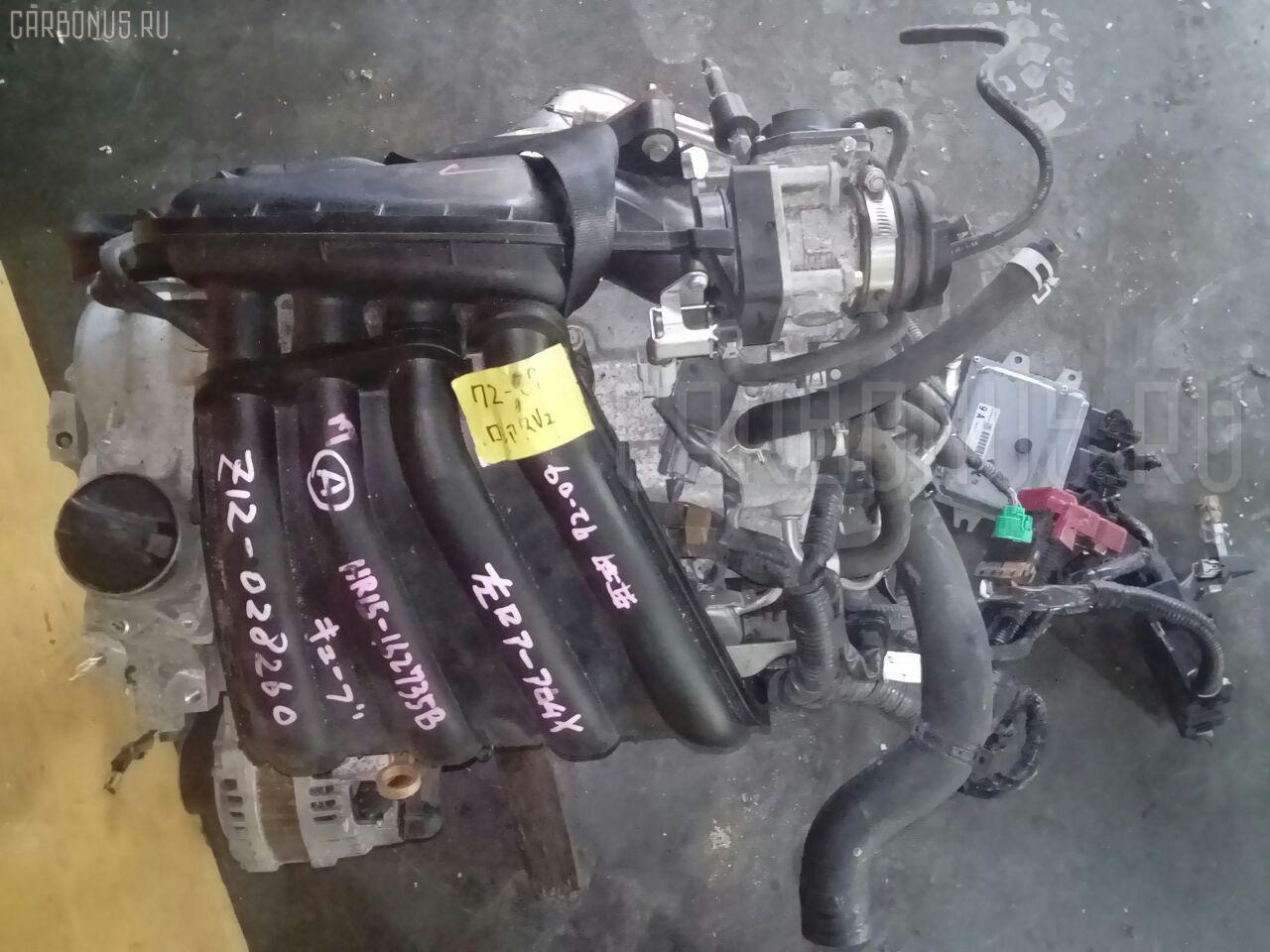 Двигатель NISSAN CUBE Z12 HR15DE Фото 10