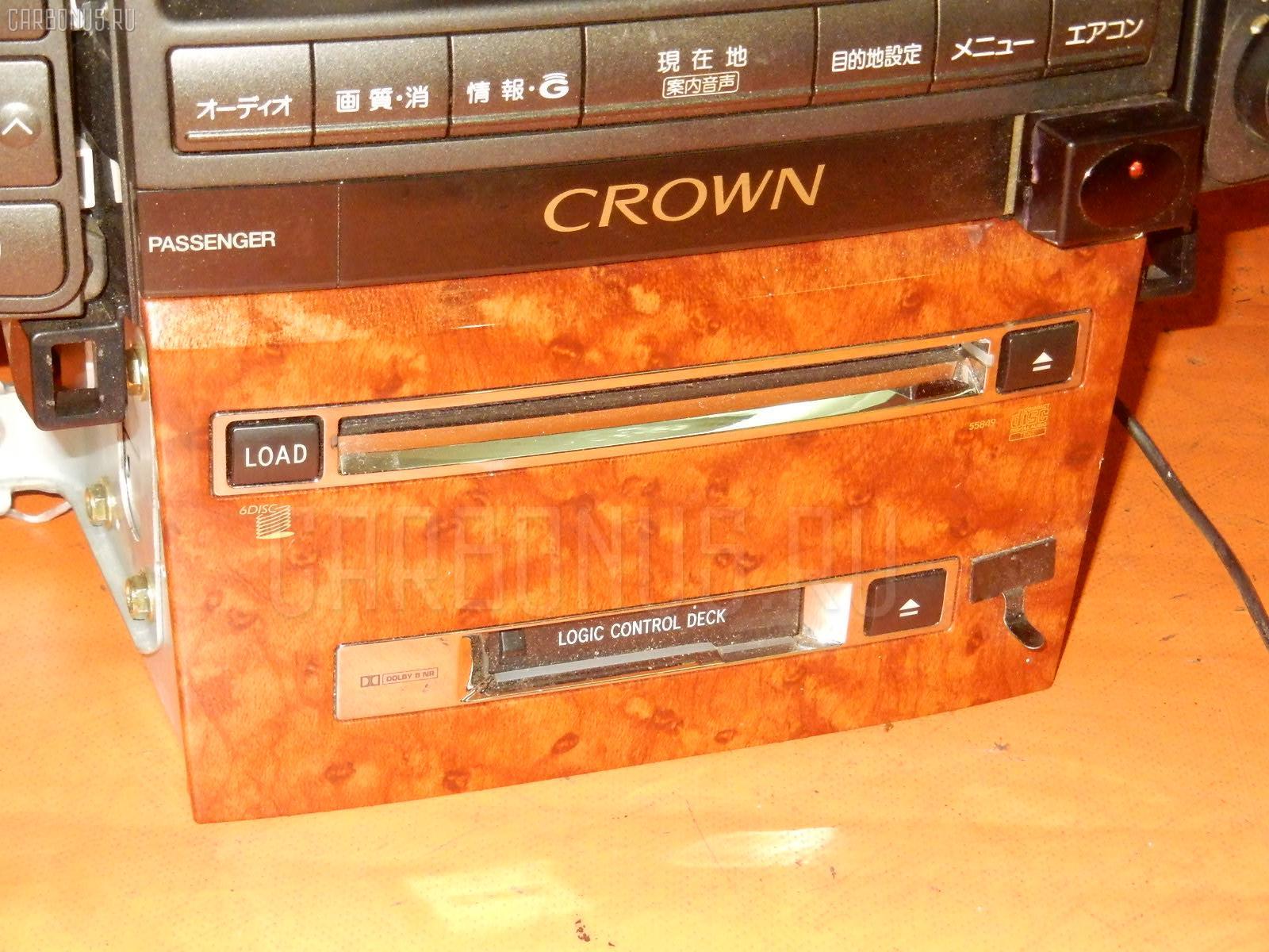 Блок управления климатконтроля TOYOTA CROWN GRS182 3GR-FSE. Фото 5