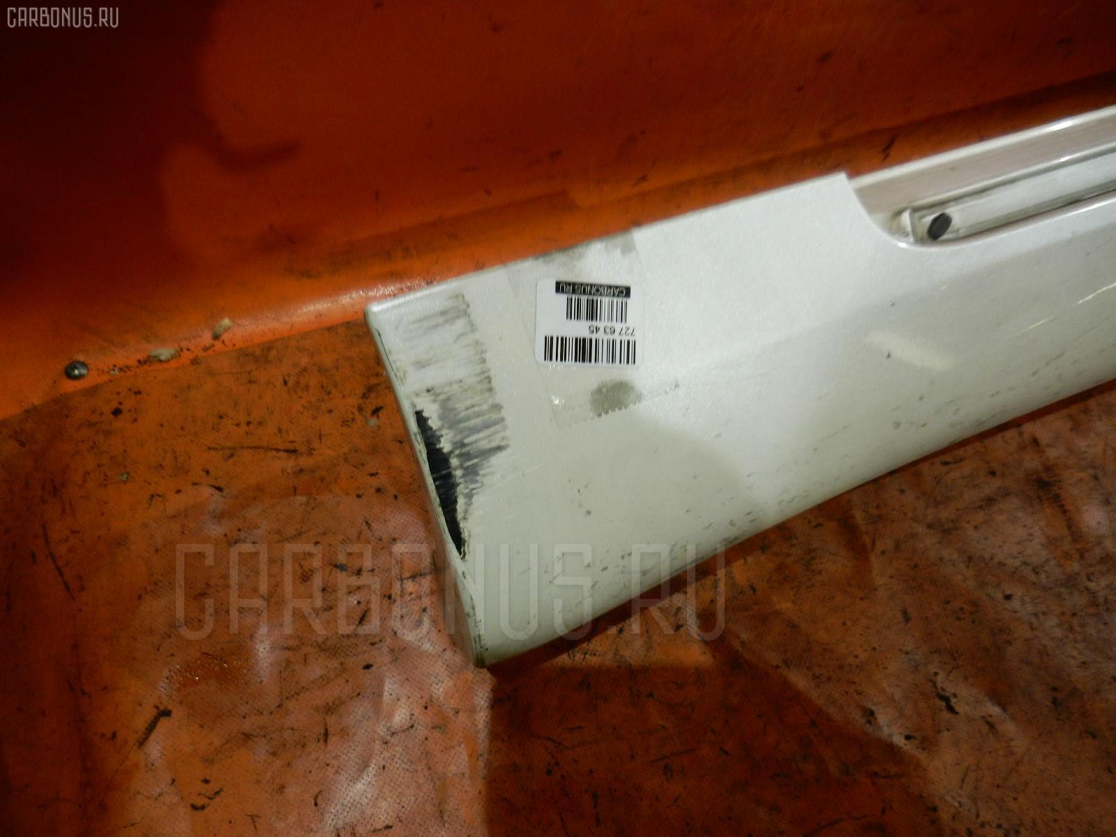 Порог кузова пластиковый ( обвес ) TOYOTA CROWN GRS182 Фото 1