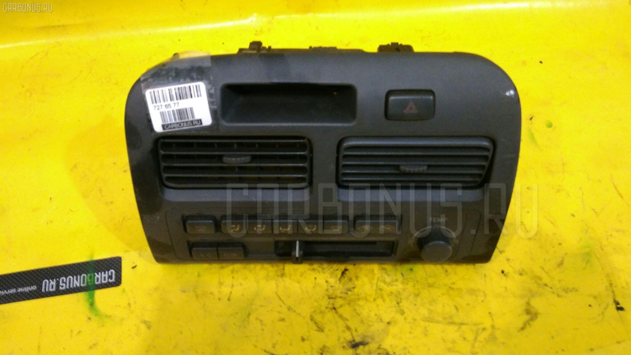 Блок управления климатконтроля TOYOTA VISTA SV40 4S-FE. Фото 10
