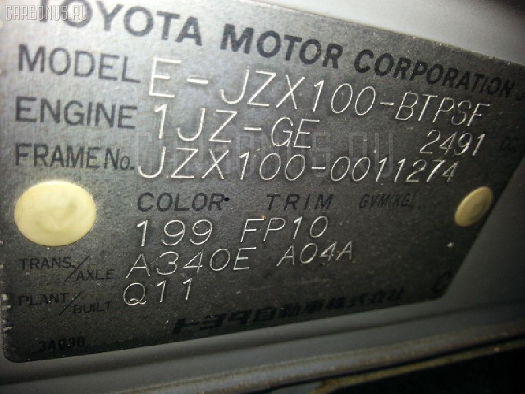Капот TOYOTA CHASER JZX100 Фото 5