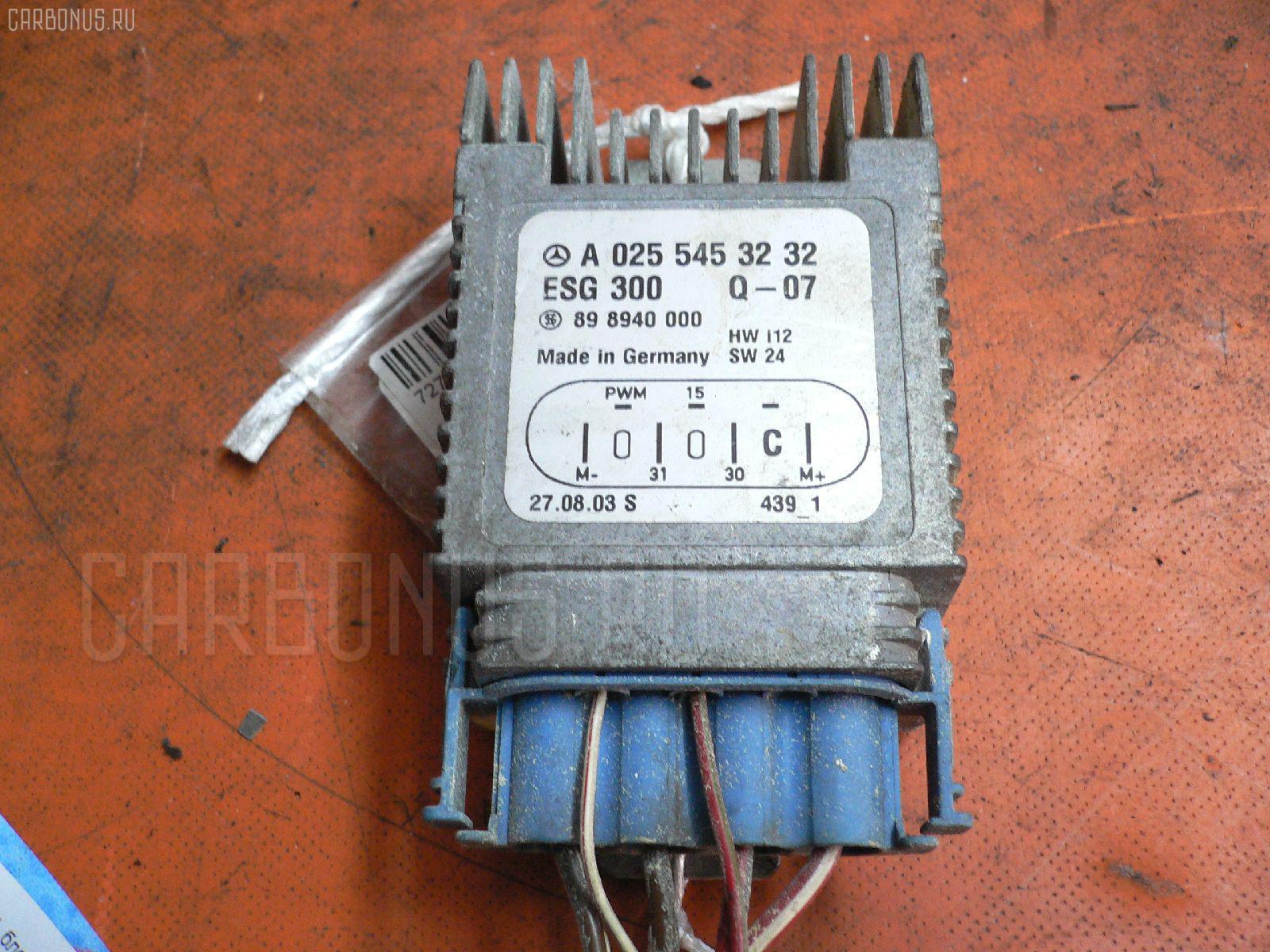 Блок управления вентилятором MERCEDES-BENZ A-CLASS W168.033 166.960. Фото 10
