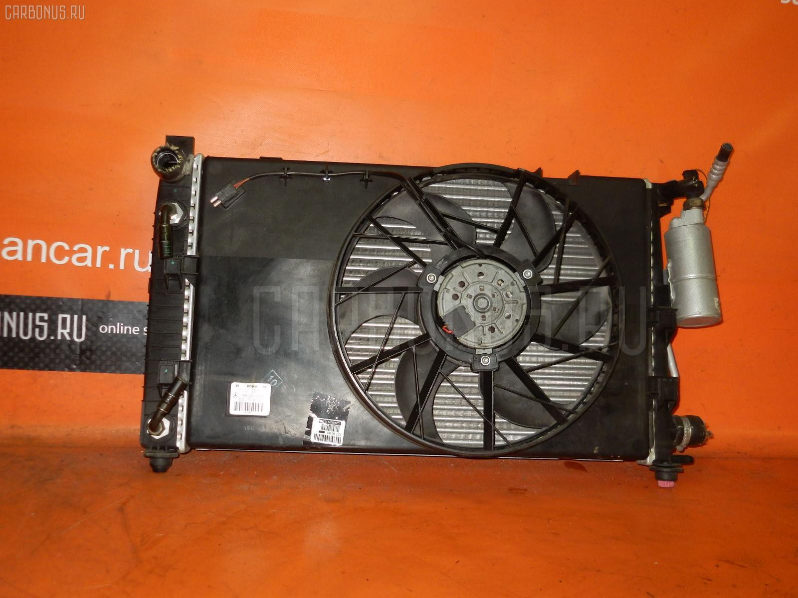 Радиатор ДВС MERCEDES-BENZ A-CLASS W168.033 166.960 Фото 1