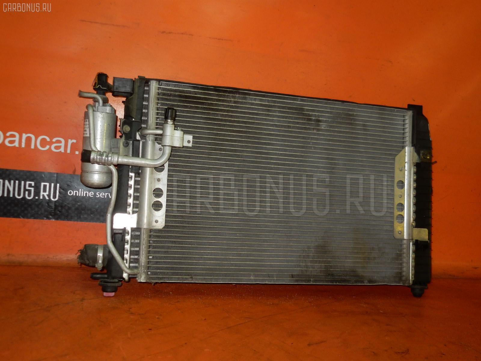 Радиатор ДВС MERCEDES-BENZ A-CLASS W168.133 166.960 Фото 2