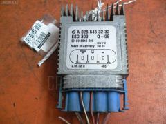 Блок управления вентилятором MERCEDES-BENZ A-CLASS W168.133 166.960 WDB1681332J807558 A0255453232