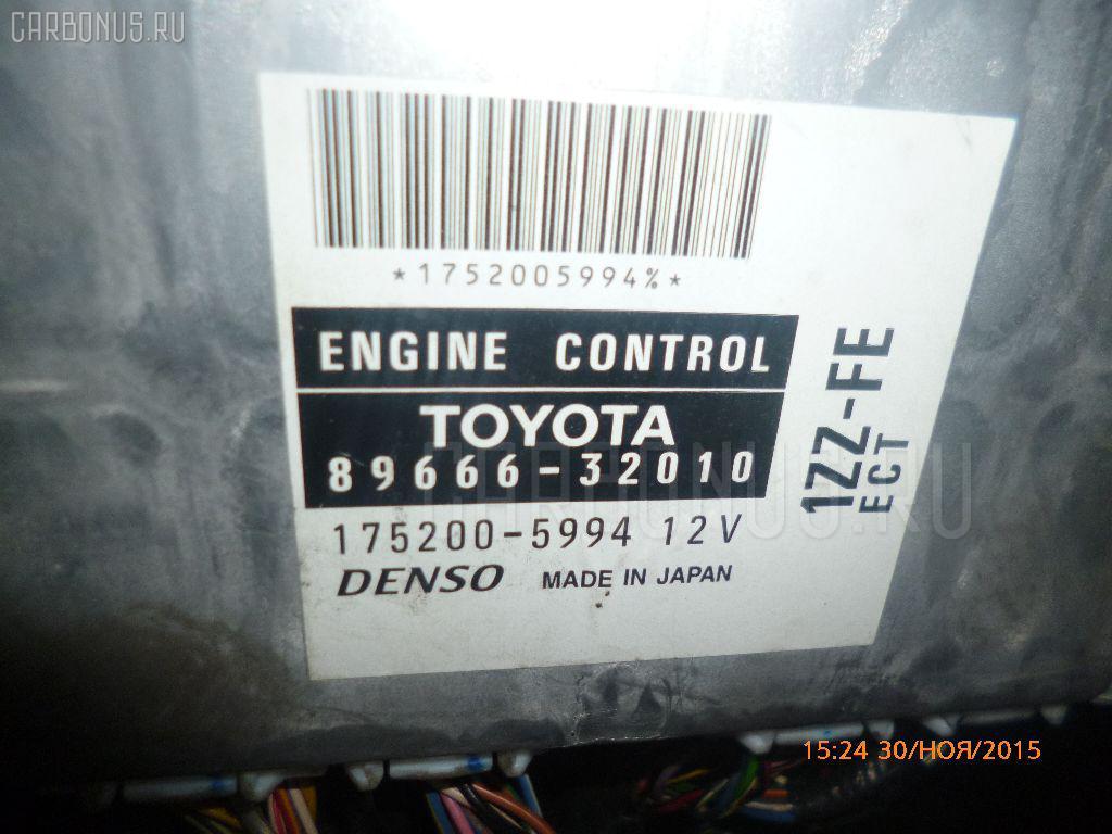 Двигатель TOYOTA VISTA ZZV50 1ZZ-FE Фото 7