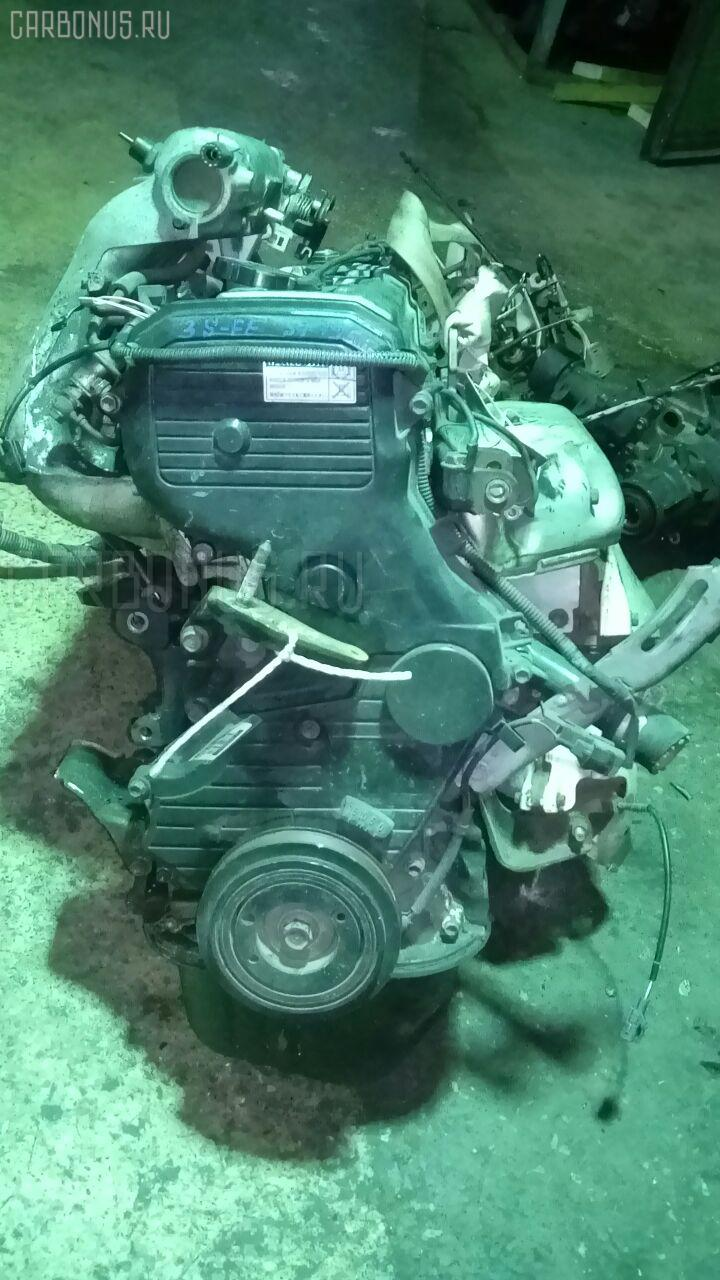 Двигатель TOYOTA CALDINA ST195G 3S-FE. Фото 10