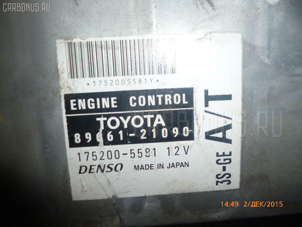 Двигатель TOYOTA CALDINA ST210G 3S-GE. Фото 3