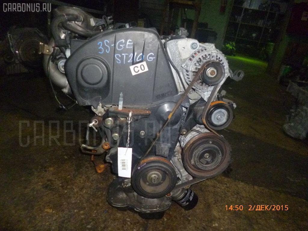 Двигатель TOYOTA CALDINA ST210G 3S-GE Фото 4