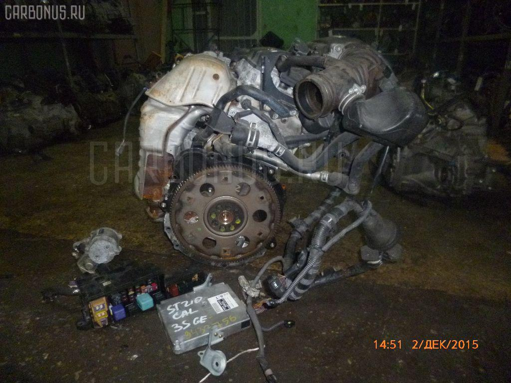 Двигатель TOYOTA CALDINA ST210G 3S-GE. Фото 10