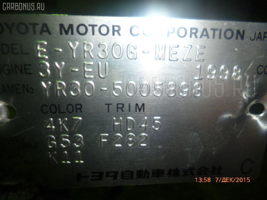 Двигатель TOYOTA MASTER ACE SURF YR30G 3Y Фото 1