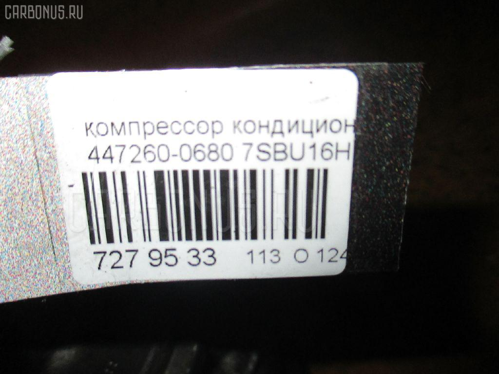 Компрессор кондиционера CADILLAC DTS L37 Фото 4