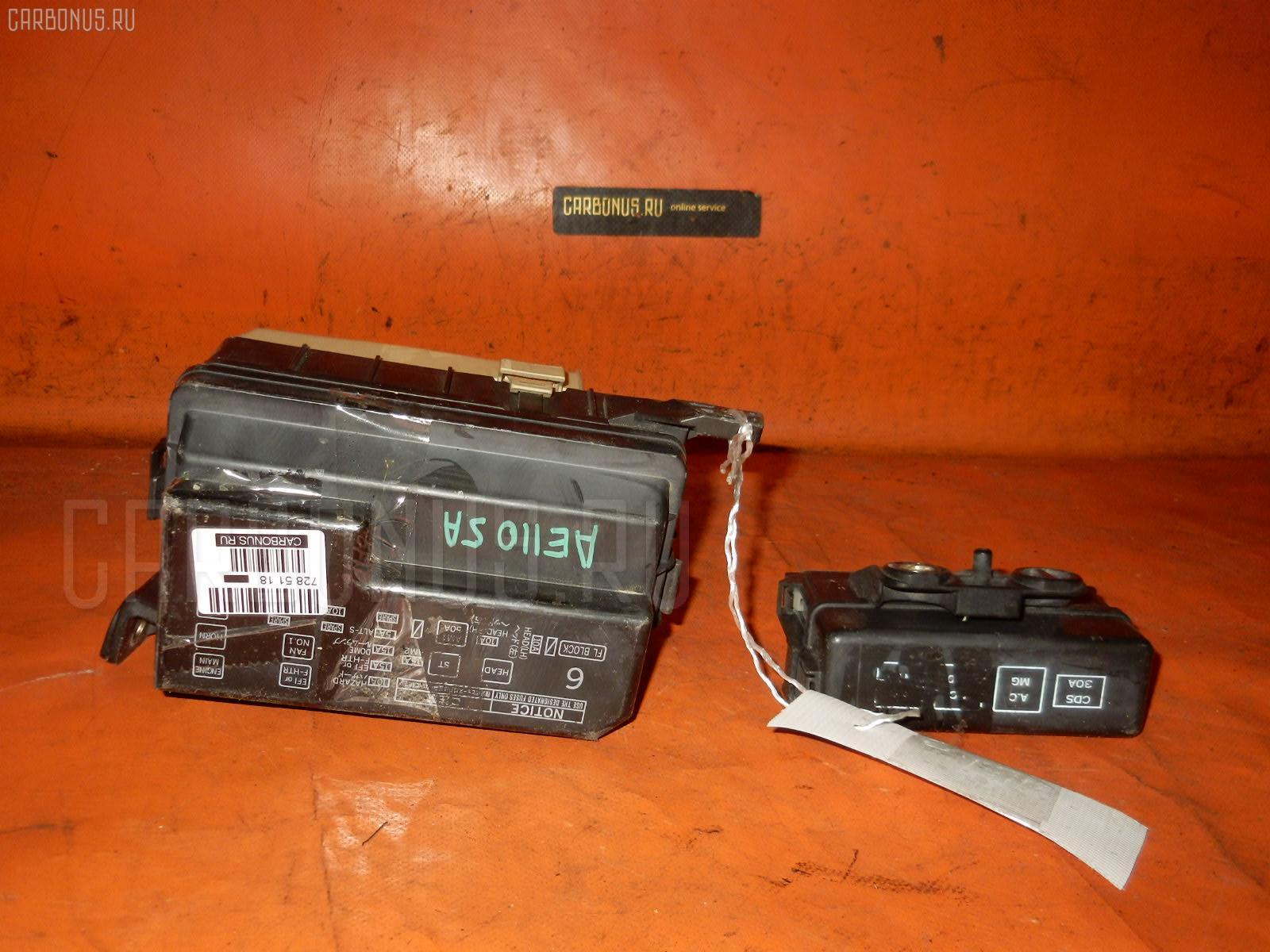 Блок предохранителей TOYOTA COROLLA AE110 5A-FE. Фото 5