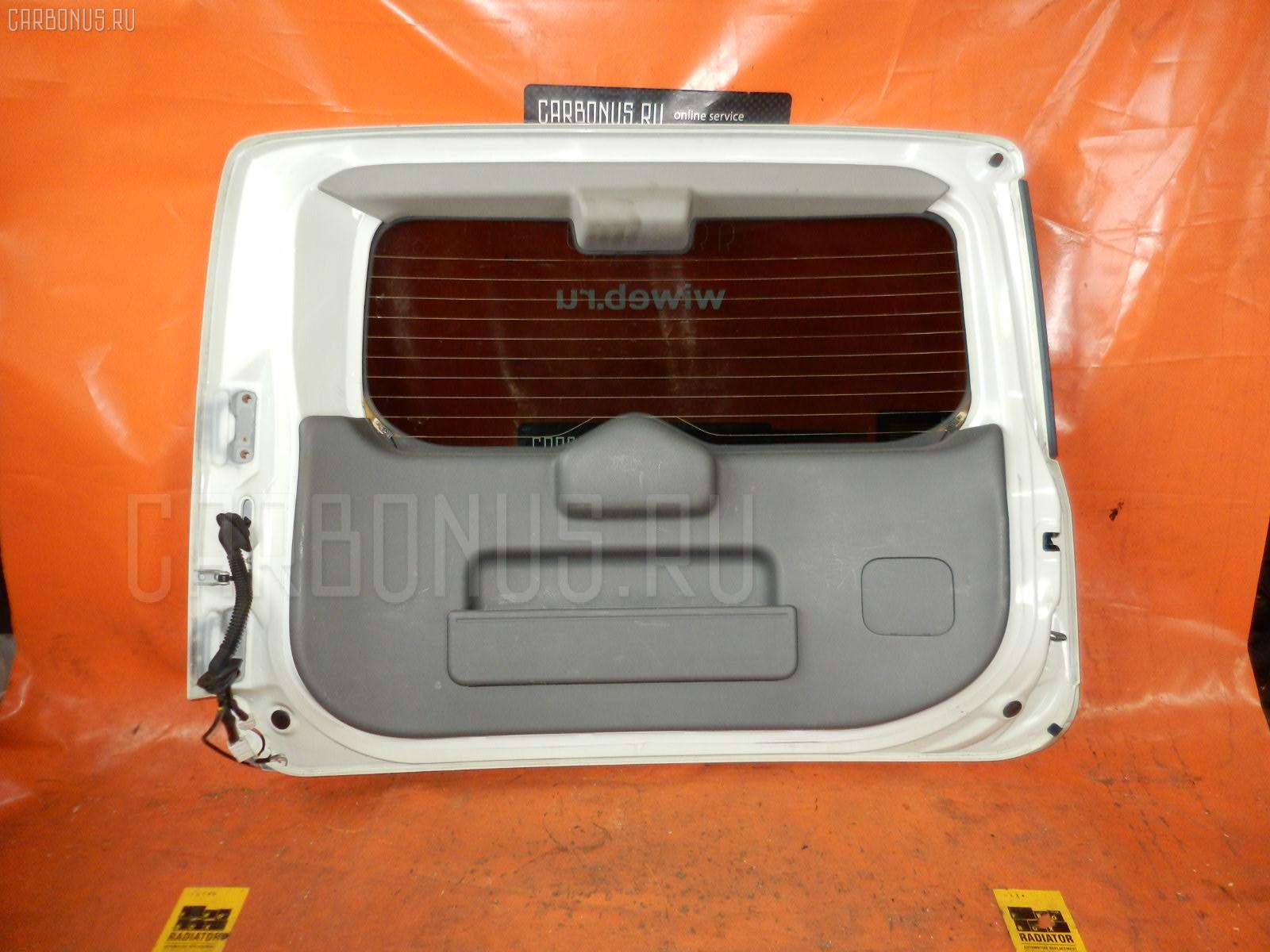 Дверь задняя Nissan Cube BNZ11 Фото 1
