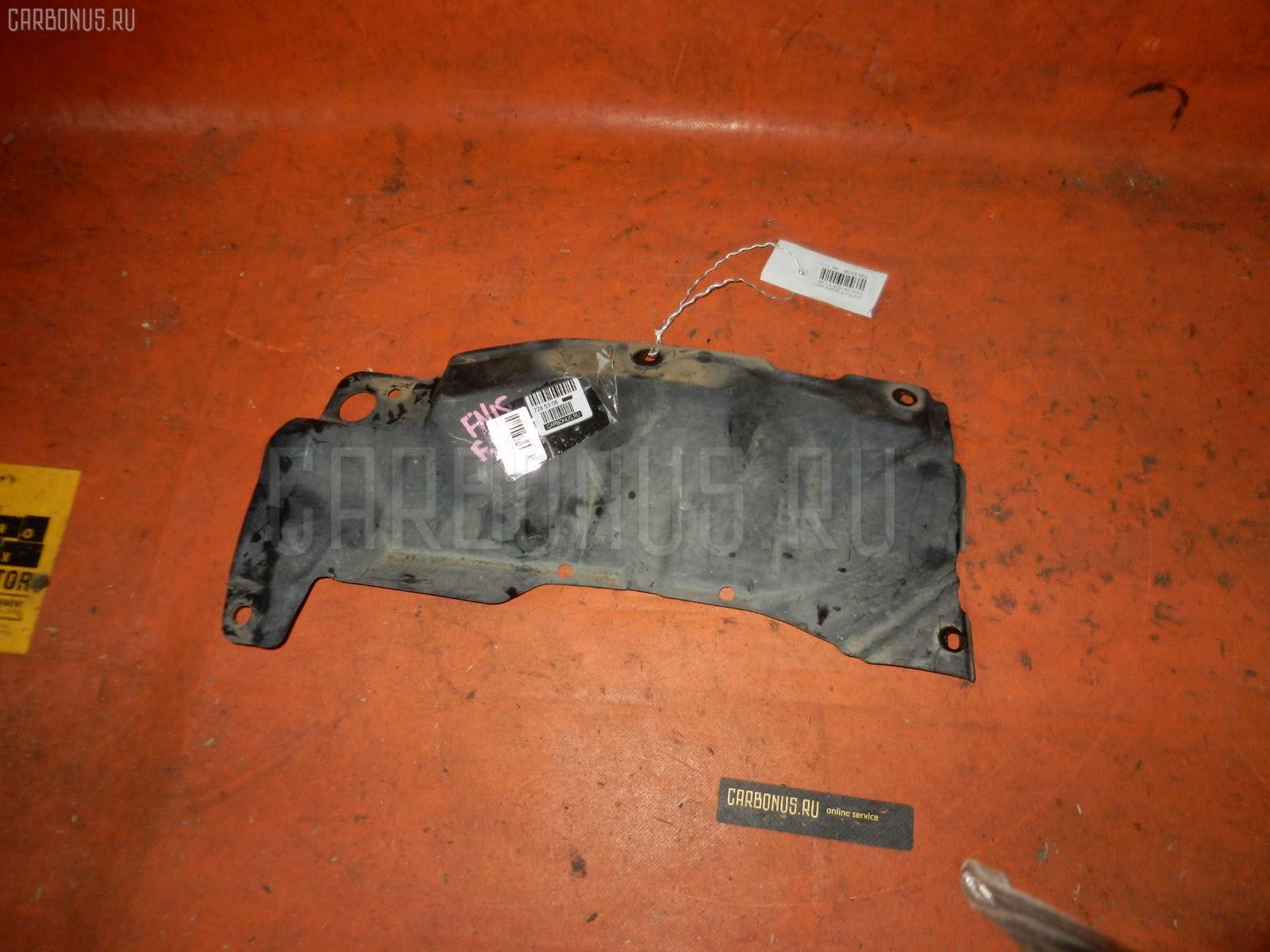Защита двигателя NISSAN PULSAR FN15 GA15DE Фото 1