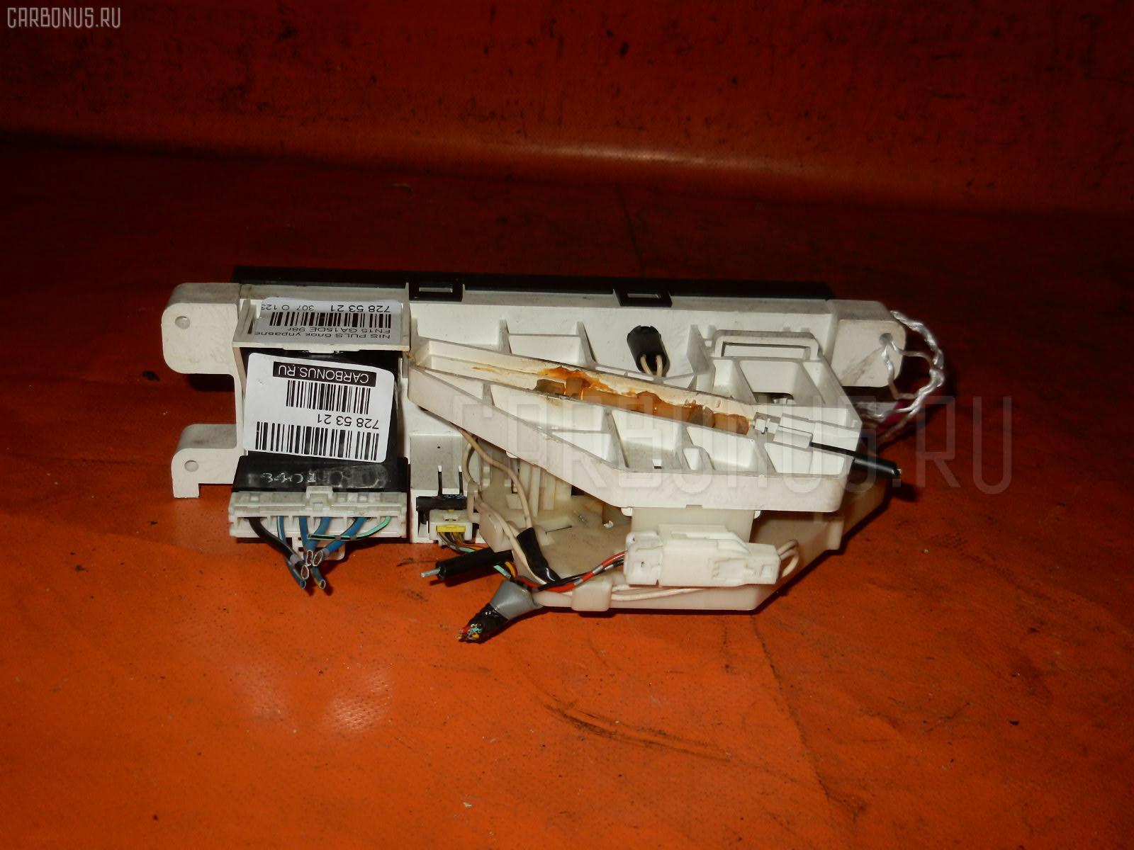 Блок управления климатконтроля NISSAN PULSAR FN15 GA15DE. Фото 2