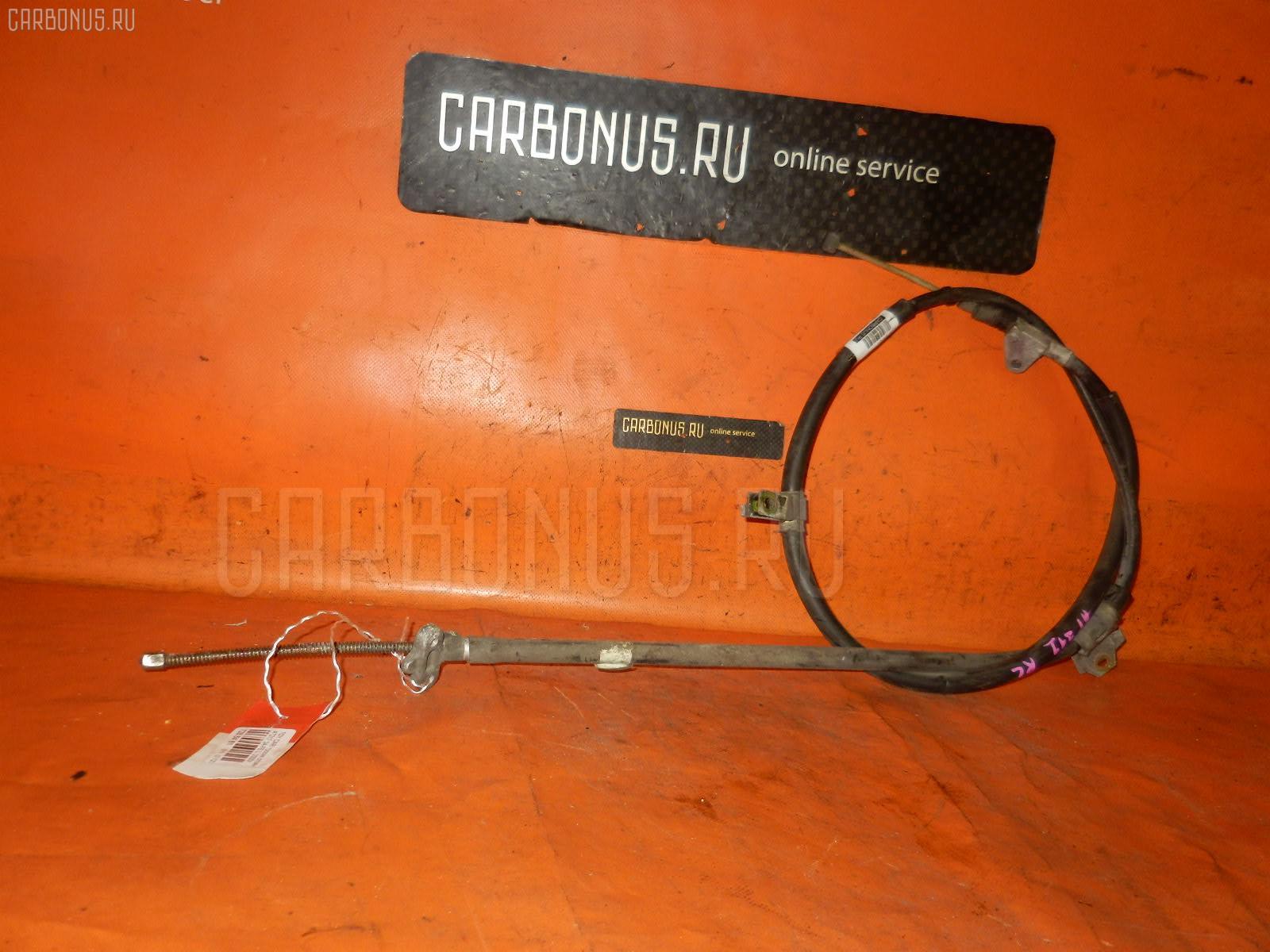 Тросик стояночного тормоза TOYOTA CORONA PREMIO AT211 7A-FE. Фото 9