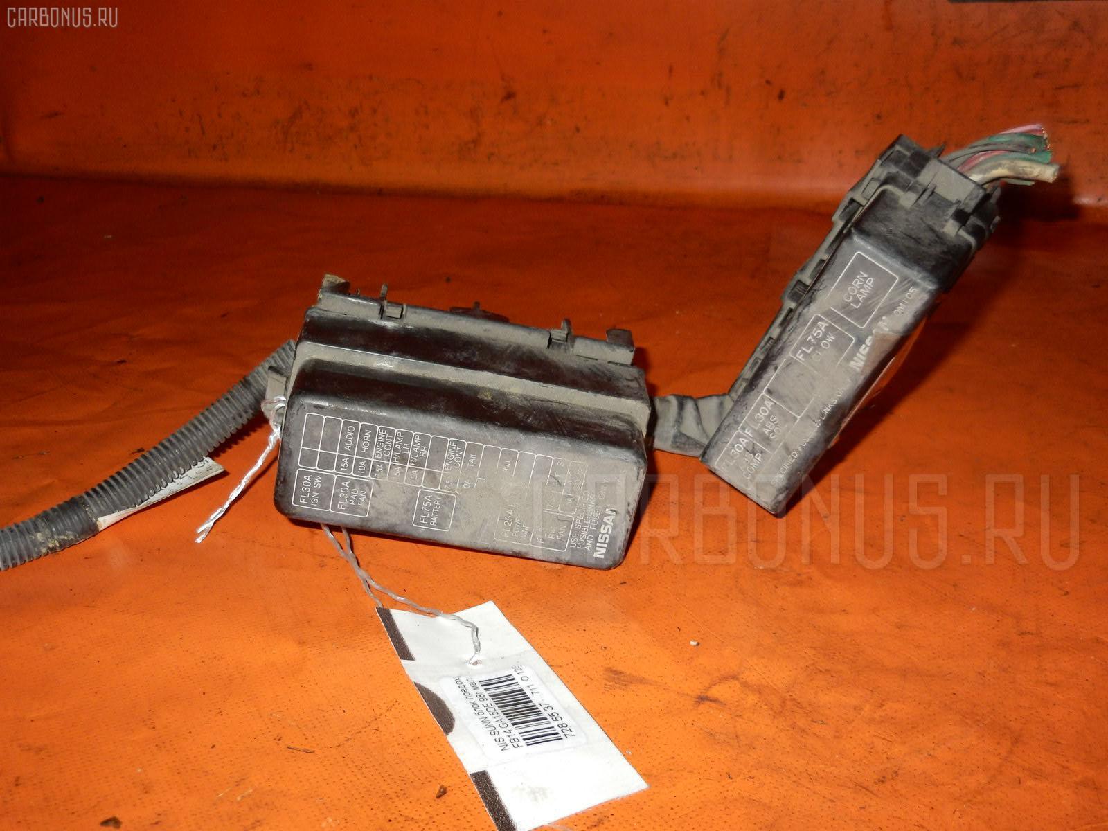 Блок предохранителей NISSAN SUNNY FB14 GA15DE. Фото 4