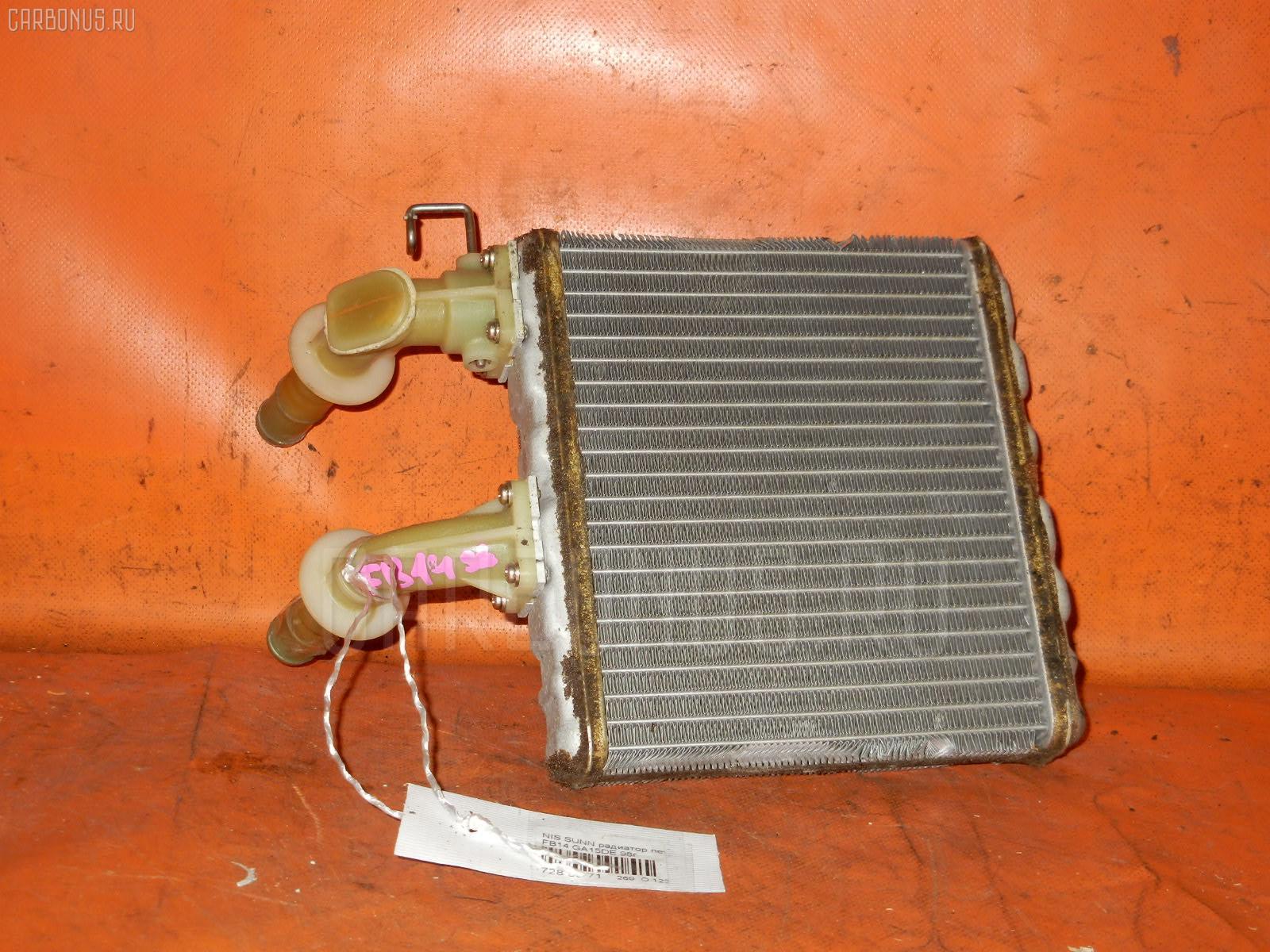 Радиатор печки NISSAN SUNNY FB14 GA15DE Фото 1