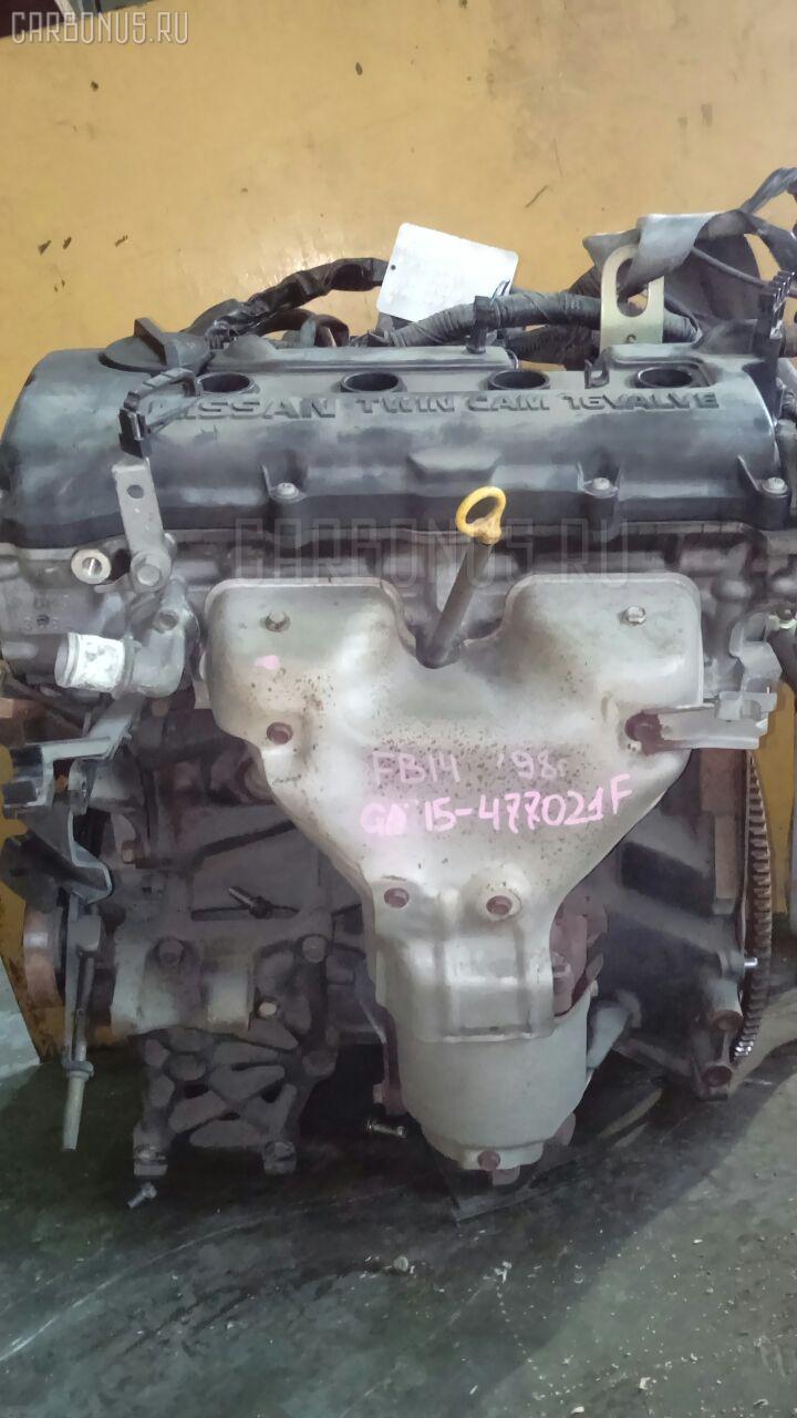 Двигатель NISSAN SUNNY FB14 GA15DE. Фото 8