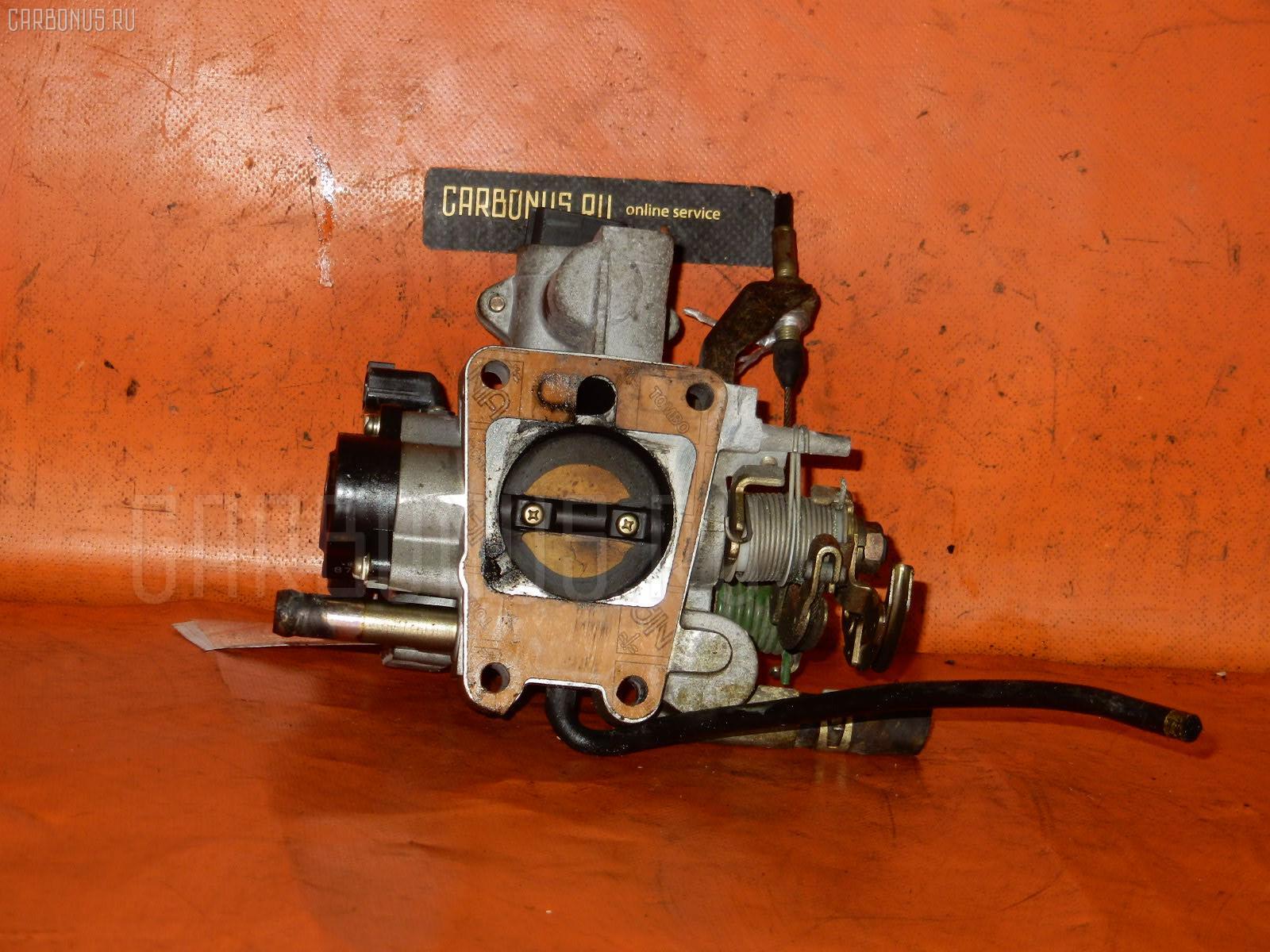 Дроссельная заслонка NISSAN SUNNY FB14 GA15DE. Фото 2
