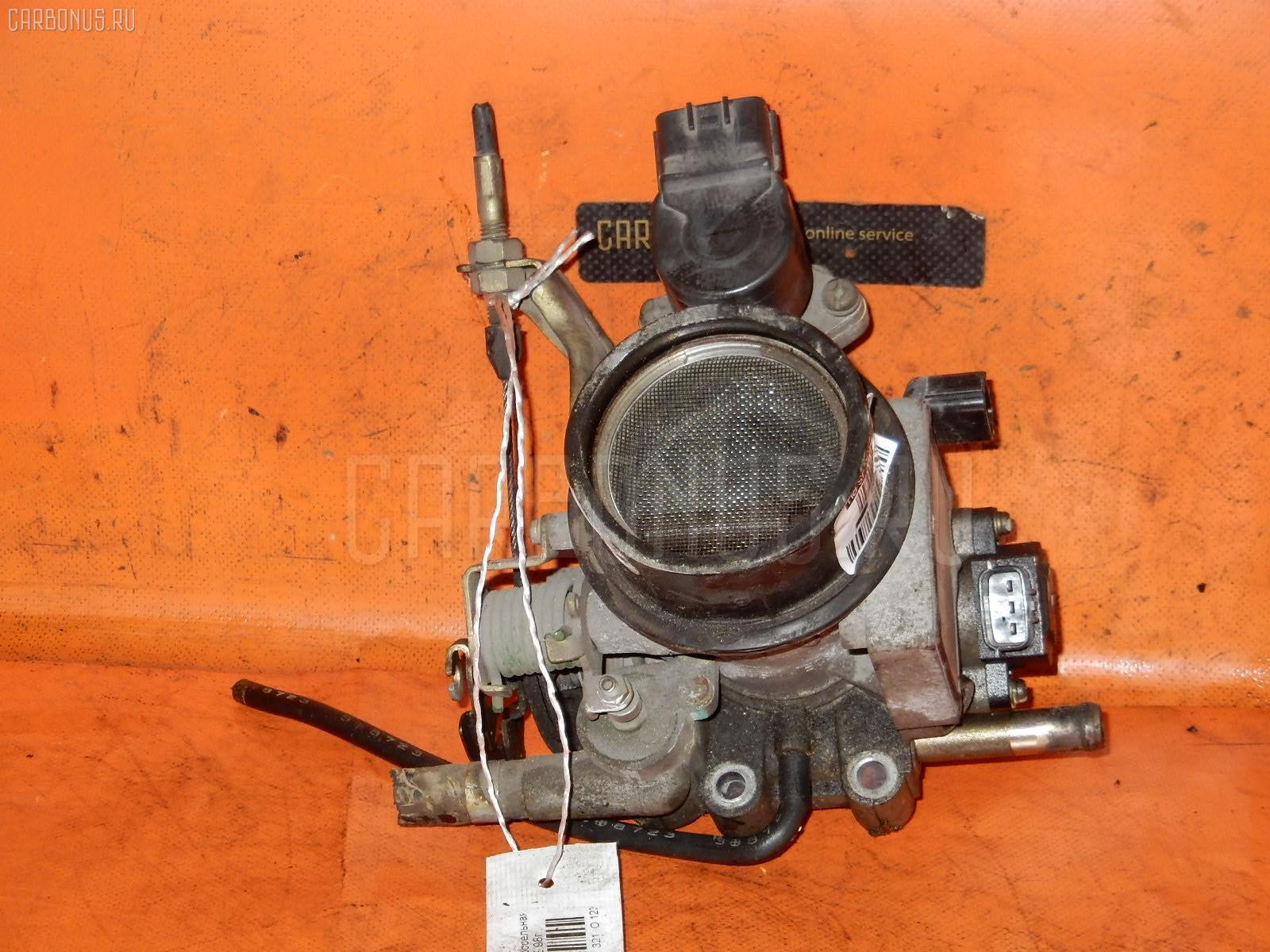 Дроссельная заслонка NISSAN SUNNY FB14 GA15DE. Фото 3