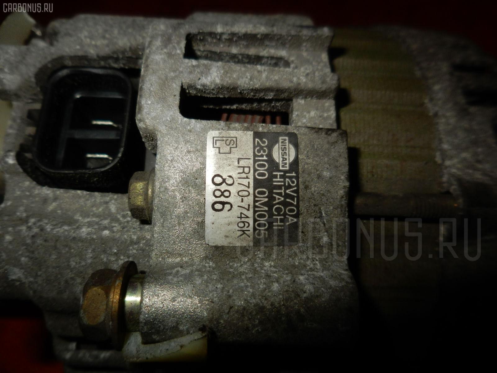 Генератор NISSAN SUNNY FB14 GA15DE. Фото 4