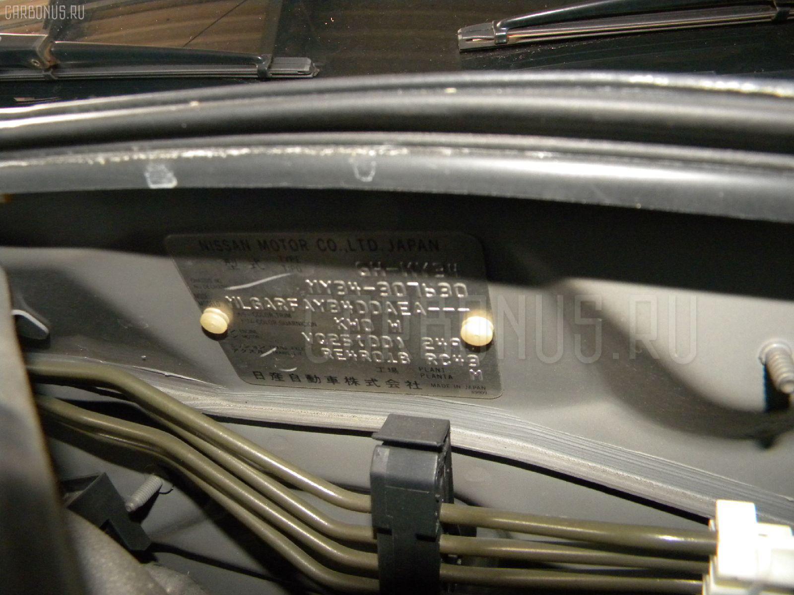 Двигатель NISSAN CEDRIC MY34 VQ25DD Фото 11